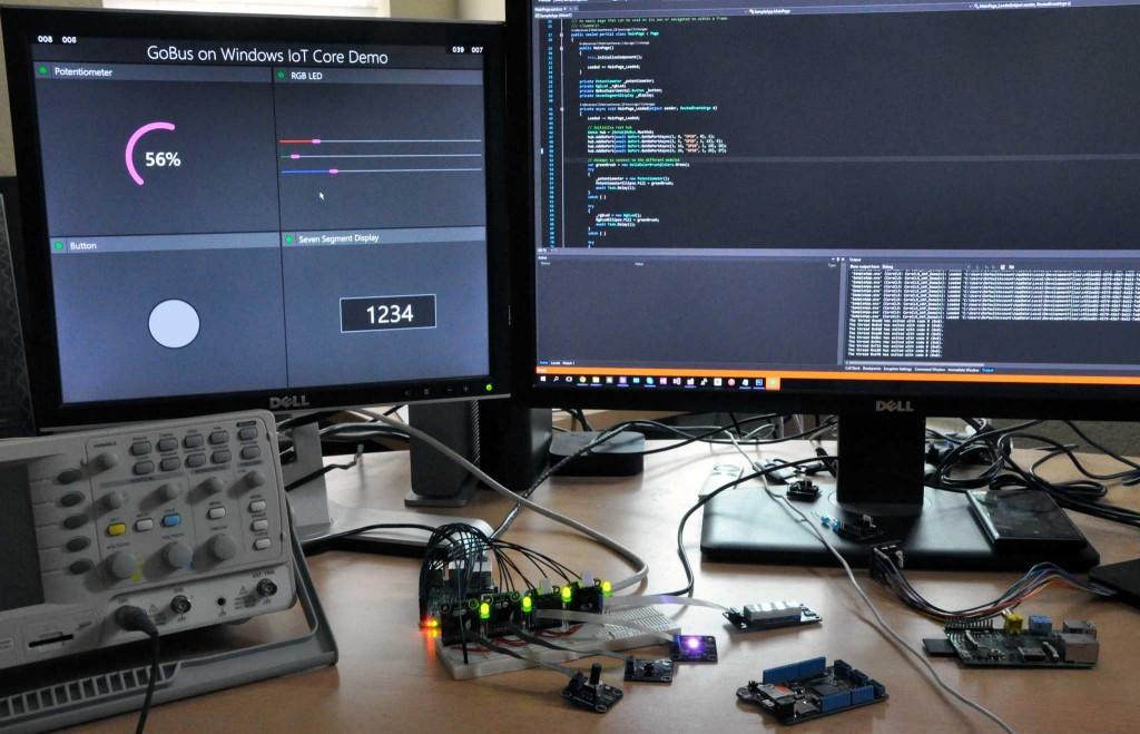 GoBus on Windows IoT Core
